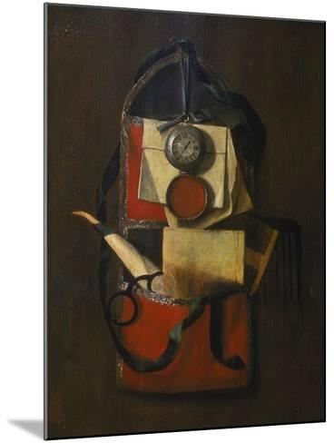 Still Life with Wall Pouch-G Seemanns-Mounted Giclee Print