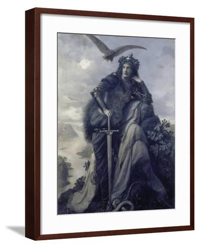 The Watch on the Rhine, 1874-Hermann Wislicenus-Framed Art Print