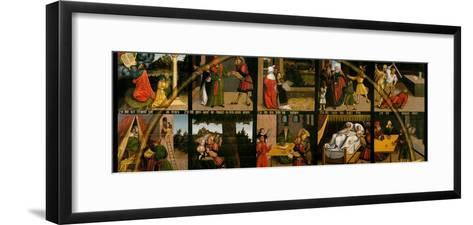The Ten Commandments-Lucas Cranach the Elder-Framed Art Print