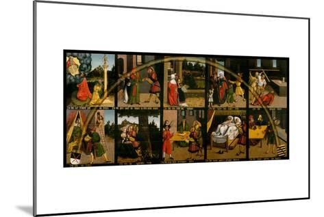 The Ten Commandments-Lucas Cranach the Elder-Mounted Giclee Print