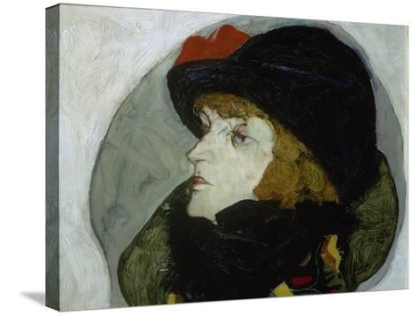 Portrait of Ida Roessler, 1912-Egon Schiele-Stretched Canvas Print