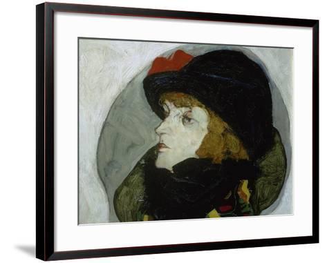 Portrait of Ida Roessler, 1912-Egon Schiele-Framed Art Print