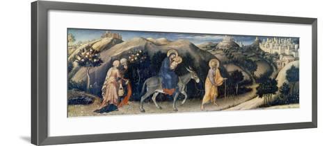 Flight to Egypt-Gentile da Fabriano-Framed Art Print
