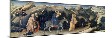 Flight to Egypt-Gentile da Fabriano-Mounted Giclee Print