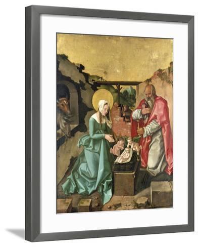 Nativity, 1510-Hans Baldung-Framed Art Print