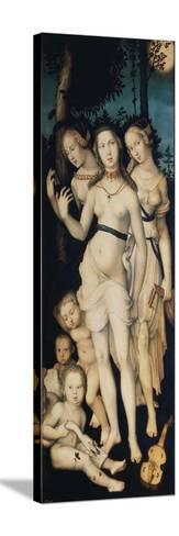The Three Graces-Hans Baldung-Stretched Canvas Print
