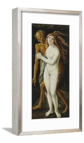 Death and the Girl, 1517-Hans Baldung-Framed Art Print