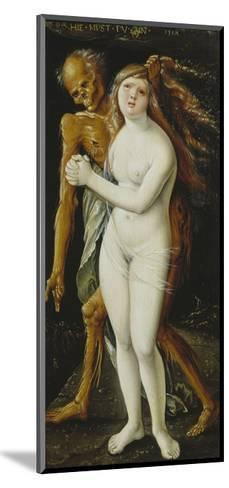 Death and the Girl, 1517-Hans Baldung-Mounted Giclee Print