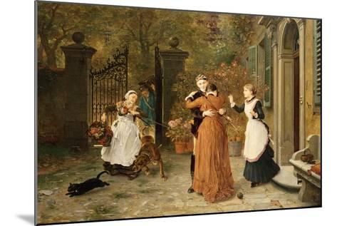 The Reunion, 1884-Ludwig Knaus-Mounted Giclee Print