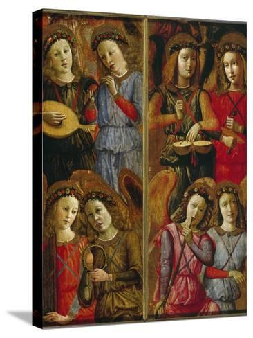 Angels Making Music-Florentinisch-Stretched Canvas Print