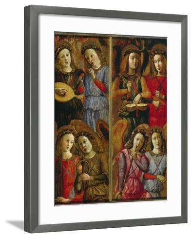 Angels Making Music-Florentinisch-Framed Art Print