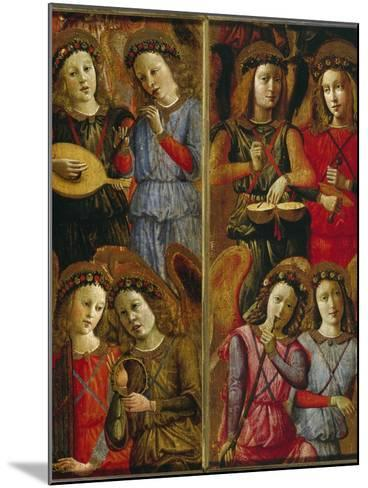Angels Making Music-Florentinisch-Mounted Giclee Print