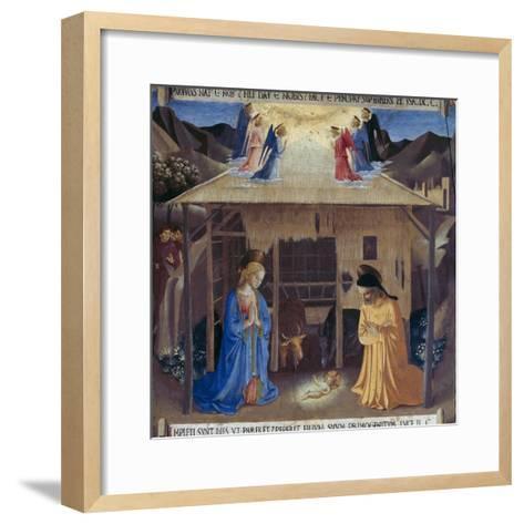 Nativity-Fra Angelico-Framed Art Print