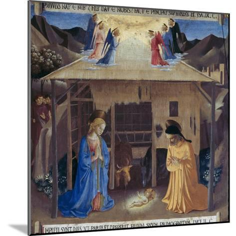 Nativity-Fra Angelico-Mounted Giclee Print