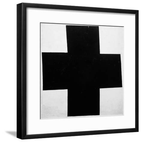 Black Cross-Kasimir Malevich-Framed Art Print