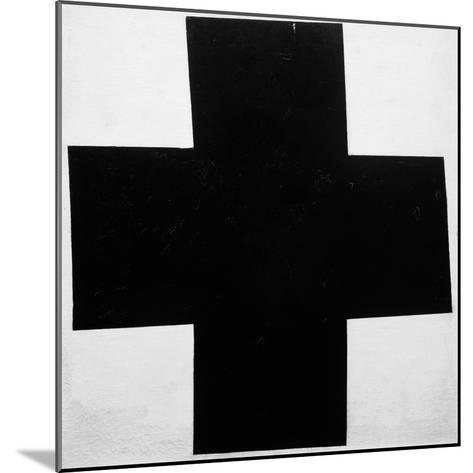 Black Cross-Kasimir Malevich-Mounted Giclee Print