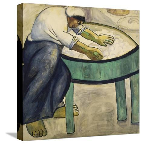 The Washerwoman, 1911-Kasimir Malevich-Stretched Canvas Print
