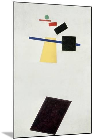 The Football Game, after 1914-Kasimir Malevich-Mounted Giclee Print