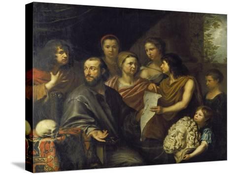 The Family of the Engraver Matthaeus Merian the Elder (1593-1650), 1641-Matthäus Merian-Stretched Canvas Print