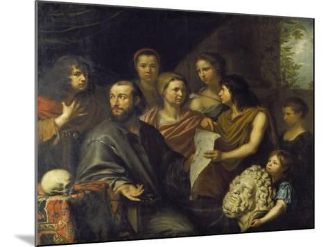 The Family of the Engraver Matthaeus Merian the Elder (1593-1650), 1641-Matthäus Merian-Mounted Giclee Print