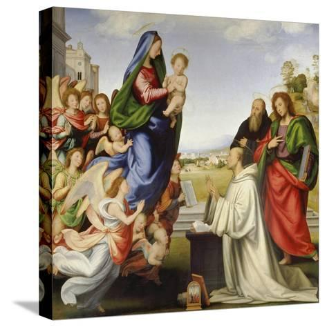 The Vision of St. Bartholomew-Fra Bartolomeo-Stretched Canvas Print