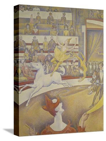 The Circus, 1891-Georges Seurat-Stretched Canvas Print