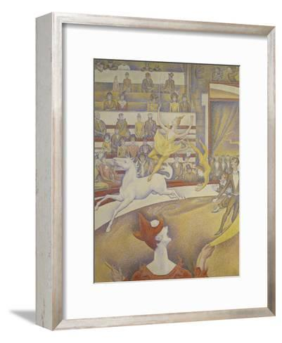 The Circus, 1891-Georges Seurat-Framed Art Print