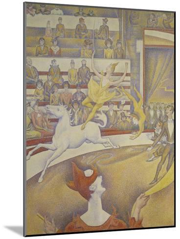 The Circus, 1891-Georges Seurat-Mounted Giclee Print