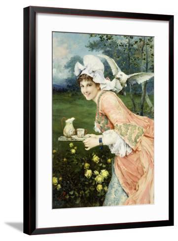 Tea Time Tease-Francesco Vinea-Framed Art Print