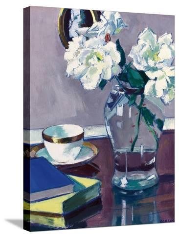 Roses, Late 1920S-Francis Campbell Boileau Cadell-Stretched Canvas Print