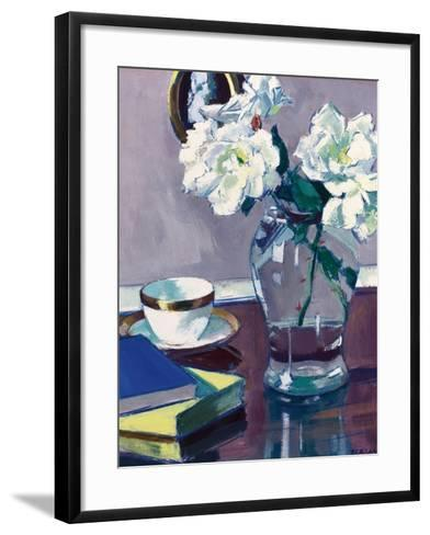 Roses, Late 1920S-Francis Campbell Boileau Cadell-Framed Art Print