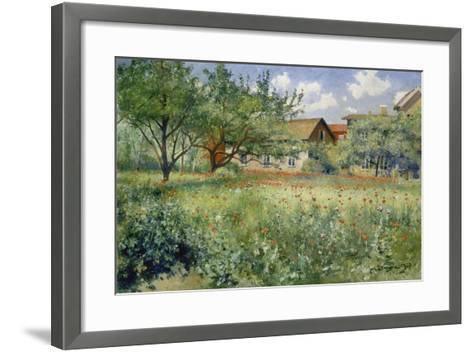 Poppy Field, 1923-Johann Eric Ericson-Framed Art Print