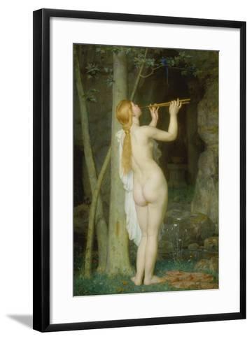 La Charmeuse, 1868-Marc Charles Gabriel Gleyre-Framed Art Print
