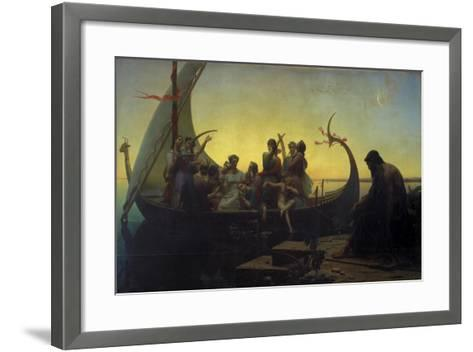 Lost Illusions, or Evening, 1843-Marc Charles Gabriel Gleyre-Framed Art Print