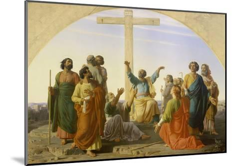 The Departure of the Apostles, 1845-Marc Charles Gabriel Gleyre-Mounted Giclee Print
