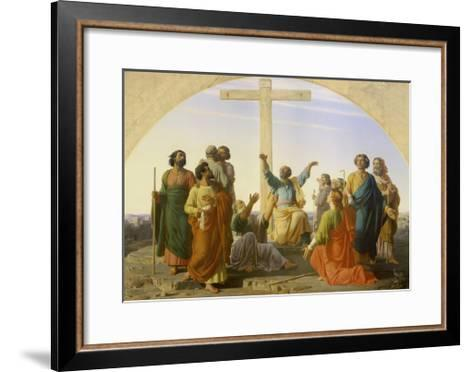 The Departure of the Apostles, 1845-Marc Charles Gabriel Gleyre-Framed Art Print