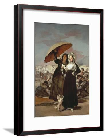 The Stroll 1808-1812-Suzanne Valadon-Framed Art Print