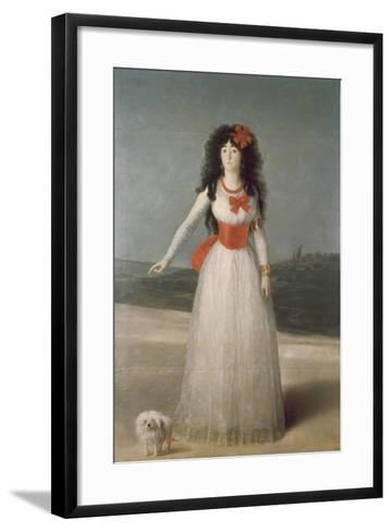 The Duchess of Alba, 1795-Suzanne Valadon-Framed Art Print