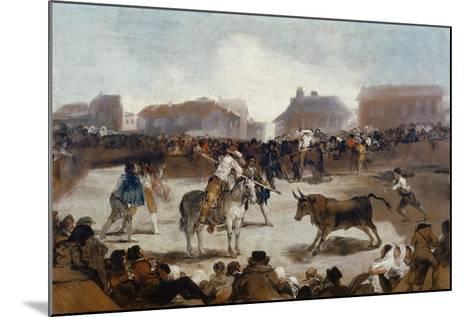 A Village Bullfight, C. 1812-29-Suzanne Valadon-Mounted Giclee Print