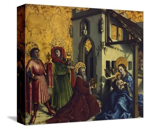 Adoration of the Magi-Konrad Witz-Stretched Canvas Print