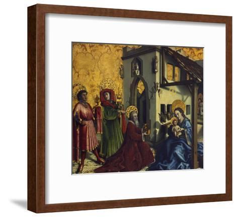 Adoration of the Magi-Konrad Witz-Framed Art Print