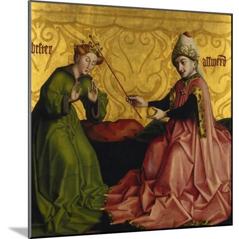 Esther before Ahasver-Konrad Witz-Mounted Giclee Print