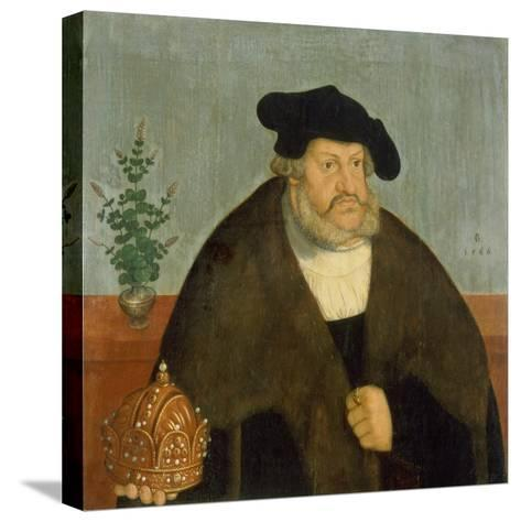 Kurfuerst Friedrich III, (Der Weise), 1566-Lucas Cranach the Elder-Stretched Canvas Print
