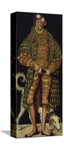 Portrait of Henry the Pious, Duke of Saxony, 1514-Lucas Cranach the Elder-Stretched Canvas Print