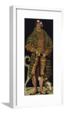 Portrait of Henry the Pious, Duke of Saxony, 1514-Lucas Cranach the Elder-Framed Art Print