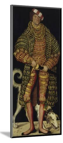 Portrait of Henry the Pious, Duke of Saxony, 1514-Lucas Cranach the Elder-Mounted Giclee Print