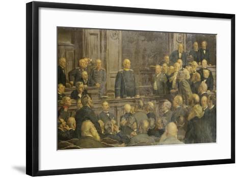 Bismarcks Letzte Reichstagsrede Am 6 Februar 1888-Ernst Henseler-Framed Art Print