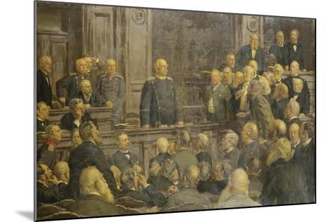 Bismarcks Letzte Reichstagsrede Am 6 Februar 1888-Ernst Henseler-Mounted Giclee Print