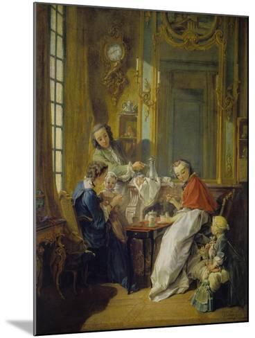 The Breakfast (Le Déjeuner), 1739-Fran?ois Boucher-Mounted Giclee Print
