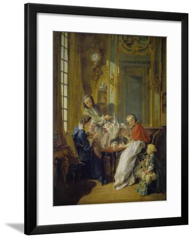 The Breakfast (Le Déjeuner), 1739-Fran?ois Boucher-Framed Art Print